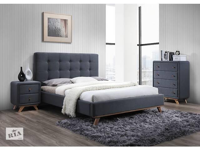 купить бу Двуспальная кровать Signal Melissa 160X200 Серый (MELISSA160SZ) в Одессе