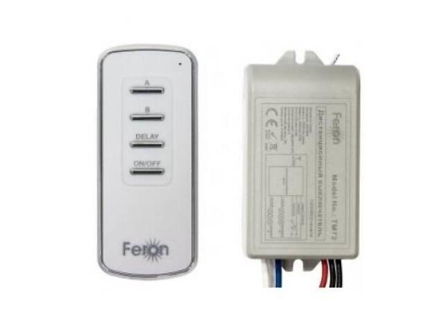 купить бу Дистанционный выключатель Feron TM72 2 канала 1000 Вт 30м (gr007667) в Киеве