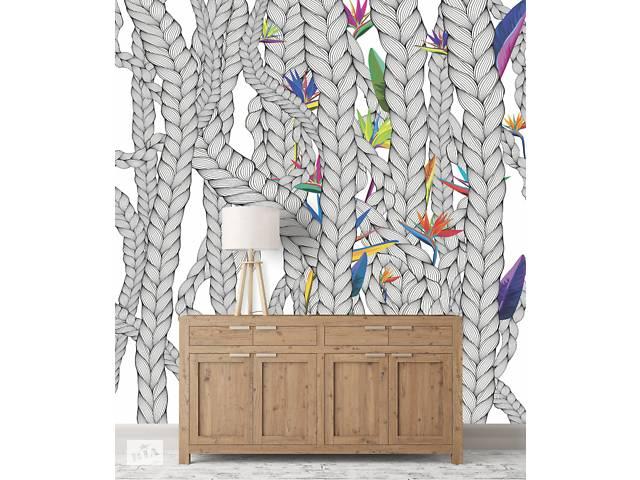 бу Дизайнерское панно в холл, коридор, лоджию Weave & Flowers 310 см х 280 см в Киеве