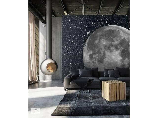 купить бу Фотообои the Moon Голубая Луна дизайнерские в стиле футуризма для дома офиса 150 см х 150 см в Киеве