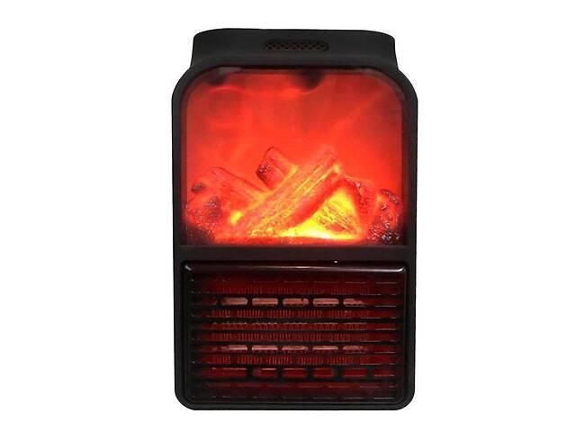 купить бу Электрообогреватель портативный Kronos Top Flame Heater 6730 с имитацией камина (gr_010589) в Києві