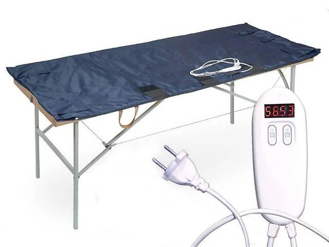 продам Электроодеяло электрическое одеяло с подогревом Shine ЕКВ-2-2 двух-зонное для обертываний 180х180 см (ЕКВ-2-2) бу в Киеве