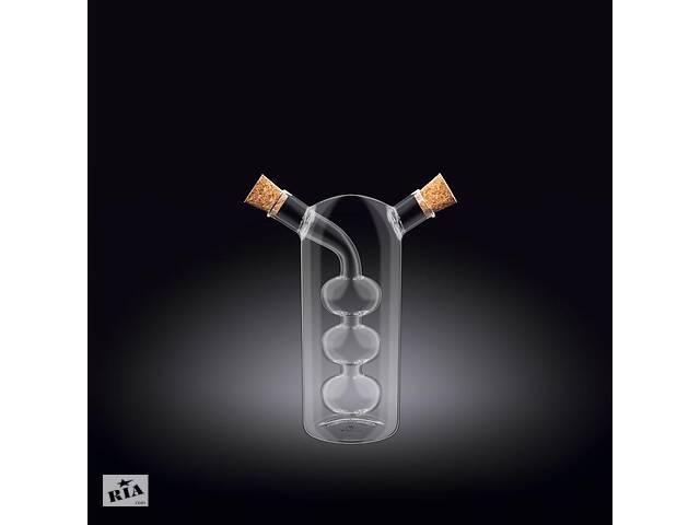 бу Емкость для масла / уксуса двойная Wilmax Thermo 300/60 мл стекло WL-888956 в Чернигове