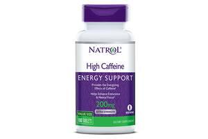 Энергетики Natrol High Caffeine 200mg - 100 таб (814773)
