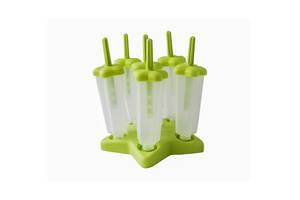 Формы для мороженого Smile mom S10 7 предметов Cалатовый