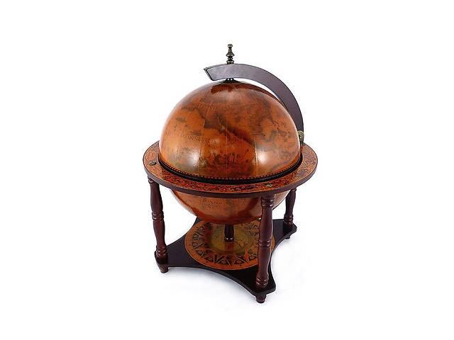бу Глобус бар BST 480013 45×33×57 см. коричневый Путешественник в Киеве