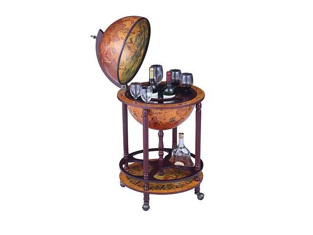 купить бу Глобус бар напольный BST 480044 50×50×90 см коричневый в Киеве
