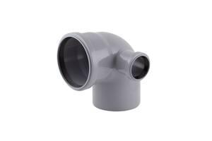 Колено канализационное с отводом TA Sewage 110х110х50, 90& deg;