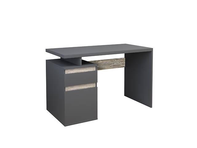 Комп'ютерний стіл Інтарсіо Kubik 1200х776 мм Антрацит + дуб клондайк (KUBIK_L)- объявление о продаже  в Киеве
