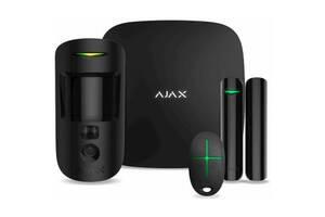 Комплект охранной сигнализации Ajax StarterKit Cam /black