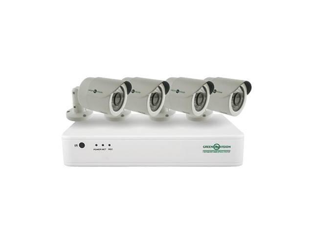 Комплект видеонаблюдения GreenVision GV-IP-K-S31/04 1080P (9420)- объявление о продаже  в Харкові