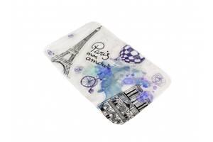 Килимок у ванну кімнату Bathlux Menara Eiffel 10153 антиковзаючий бавовняний 45х75 см SKL11-132198