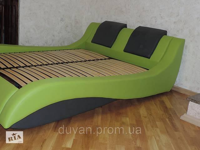 продам Кожаная мягкая  кровать с подъемным механизмом Mojito бу в Львове
