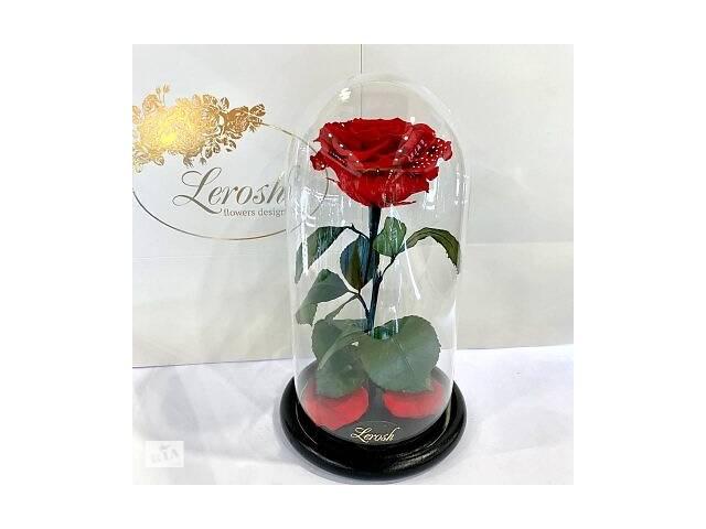 купить бу Красная роза в колбе Lerosh - Premium 27 см SKL15-279559 в Харькове