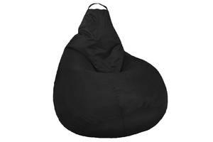Кресло мешок SOFTLAND Груша для подростков L 110х80 см Черный (SFLD15)