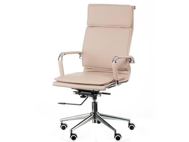 Кресло офисное Special4You Solano 4 Artleather Beige (E5852)- объявление о продаже  в Киеве
