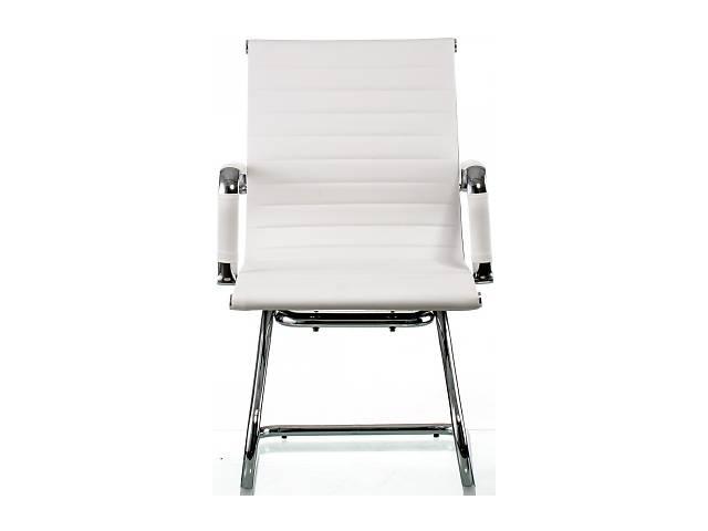 купить бу Кресло офисное Special4You Solano Office Artleather White (E5876) в Киеве