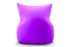 Кресло подушка трансформер Coolki Bubble Boom XL 125x75 Violet (Спандекс)