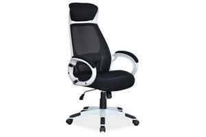 Кресло Signal Q-409 Черно-белый (OBRQ409CB)