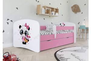 Ліжко дитяче з бортиками Пандочка Доставка безкоштовно!