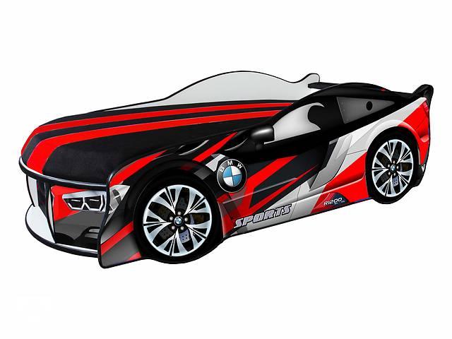 бу Кровать машина BMW Space красная Доставка бесплатно! в Львове