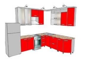 Кухня дизайнерская по правилам эргономики.