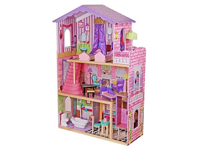 продам Кукольный домик игровой для Барби  AVKO Вилла Магнолия лифт + кукла бу в Львове