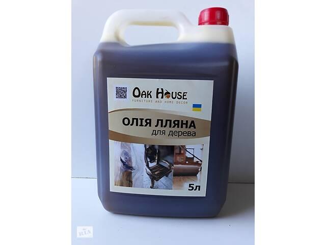 купить бу Лляна олія для обробки виробів з  дерева 5л  в Тернополі
