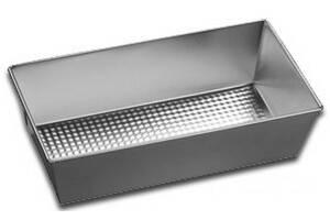 Лист противень для выпекания с рифл. дном Silver 280х150х75 мм 16290/5