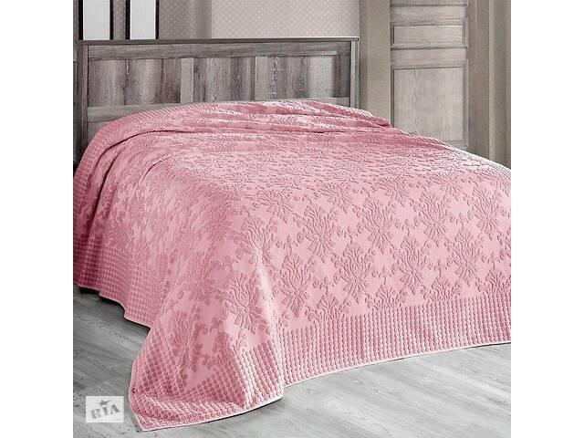 бу Махровая простынь Arya Sitare AR-TR1003901-pink 160х220 см розовая в Одесі