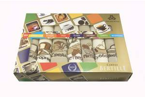 Набір кухонних вафельних рушників Niltex Тиждень 40х60 Хлібець 7шт SKL53-240118