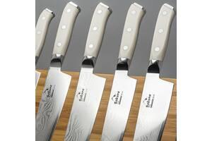 """Набор ножей из дамасской стали """"Ivory Сorian"""""""