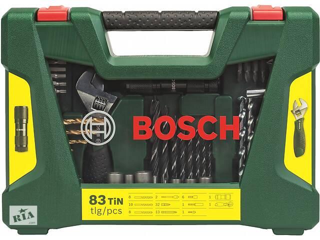 Набор сверл и бит BOSCH (83 шт.) с фонарем и раздвижным гаечным ключом- объявление о продаже  в Николаеве