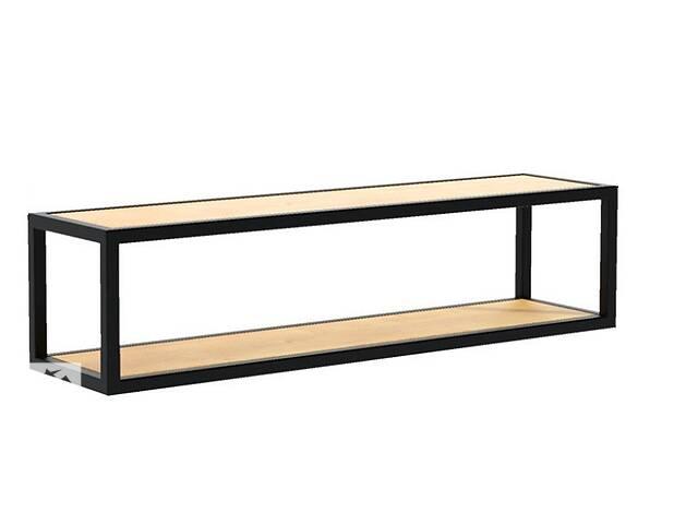 Навесная - Настенная Полка в стиле LOFT  (Wall Shelf - 12)