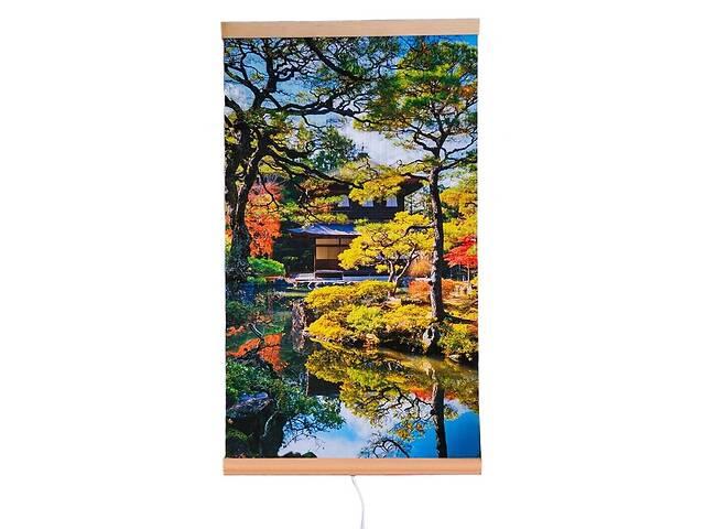 продам Обогреватель-картина инфракрасный настенный ТРИО 400W 100 х 57 см, сад Киото бу в Киеве