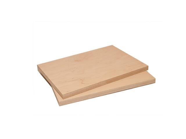 купить бу Обрезки шлифованной мебельной фанеры 15 мм (18 мм) 500х1250 мм в Харькове