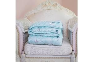 Одеяло Arda Cotton, голубое с рисунком 175х215 (A135009)
