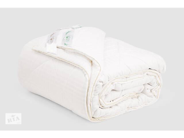 Одеяло IGLEN Дуэт из хлопка и шерсти Универсальное 220х240 см Белый (22024051+711)- объявление о продаже  в Одессе