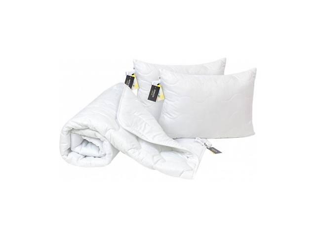 бу Одеяло MirSon Набор Eco-Soft Всесезонный 1696 Eco Light White Одеяло + под (2200002655439) в Харькове