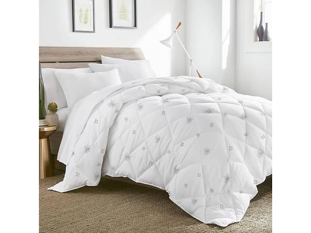 """бу Одеяло ТЕП Природа """"Aloe Vera"""" membrana print 180х210 Белое (1-00247) в Хмельницком"""
