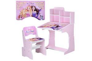 Парта для девочки Bambi W 2071-38-2 Pink (bint_W 2071-38-3)