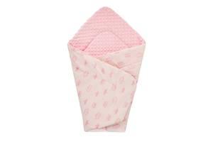 Плед DOTINEM Minky плюшевий дитячий рожевий 75х100 см (213148-1)
