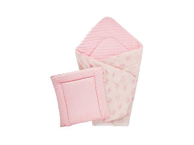 Плед DOTINEM Minky плюшевый розовый 75х85 см с подушечкой 35х35 см (215608-1)- объявление о продаже  в Одессе