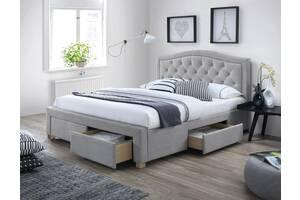 Полуторне ліжко Electra 140X200 Сірий