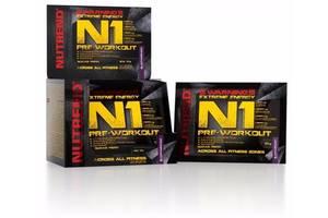 Предтренировочный продукт Nutrend N1 10x17г (черная смородина)
