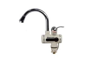 Проточный кран водонагреватель Supretto цифровой мгновенный (U019)