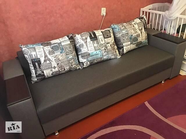 продам Прямой диван Кама Провентус Фаворит 230x90 Спальне 140х190 см Серый бу в Хмельницком