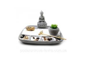 "Сад камней ""Будда"" 22,5х22,5х14,5 см 32382"