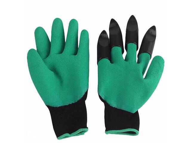 продам Садовые перчатки Supretto Garden Genie Gloves Зеленый (4670) бу в Киеве
