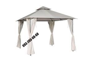 Садовый шатер,беседка,павильон,,альтанка со шторами 3м x 3м